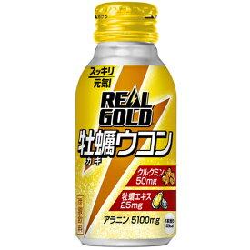 リアルゴールド 牡蠣ウコン 100mlボトル缶×6本 コカ・コーラ直送商品以外と 同梱不可 【D】【サイズA】