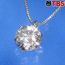 【特別価格・最上等級Dカラー】プラチナ 0.6ct ダイヤ 一粒石 ペンダント(Dカラー)/ ネックレス レディース ダイヤ…