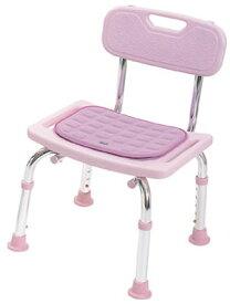 シャワーチェア 背付・コンパクトミニ [クッション付] 背もたれ 福祉用具 介護用品 入浴用品 お風呂用品 風呂椅子 風呂 いす