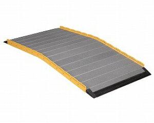 車椅子 スロープ 段ない・ス ロールタイプ630-100 長さ100cm (車椅子 スロープ 車いす 車イス 段差解消 玄関用 階段用 )