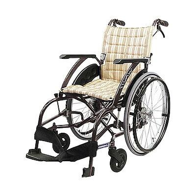 車椅子アルミ軽量折りたたみ自走式車椅子ノーパンクタイヤウェイビットWAVITWA22-40S[介助ブレーキ付]車いす 送料無料 カワムラサイクル座幅 車 いす イス (車イス 旅行 介助用 介護 旅行 折りたたみ式 お洒落 )