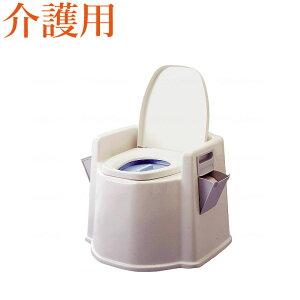 テイコブポータブルトイレ(肘掛け付)PT02 (ポータブルトイレ簡易トイレ 介護用 非常用 介護用便座 介護 トイレ 介護用品 トイレ )