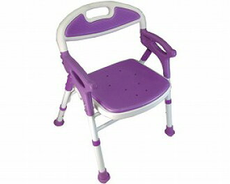 Outstanding Folding Shower Chair Comfort Hot Water 7550St Purple For The Old Man For The Bath Chair Shower Bench Care Article Elderly Person For The Shower Chair Pdpeps Interior Chair Design Pdpepsorg