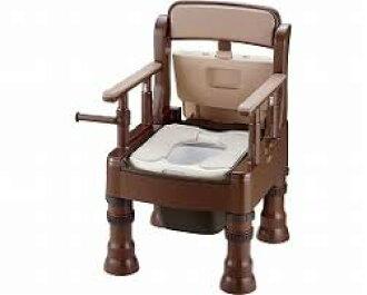 Dark Brown Toilet Seat. Mini portable Bolg or soft toilet seat MY 45613 dark brown  simple for care emergency disaster toy potty Wheelchair and nursing of the shopTCMART Rakuten Global