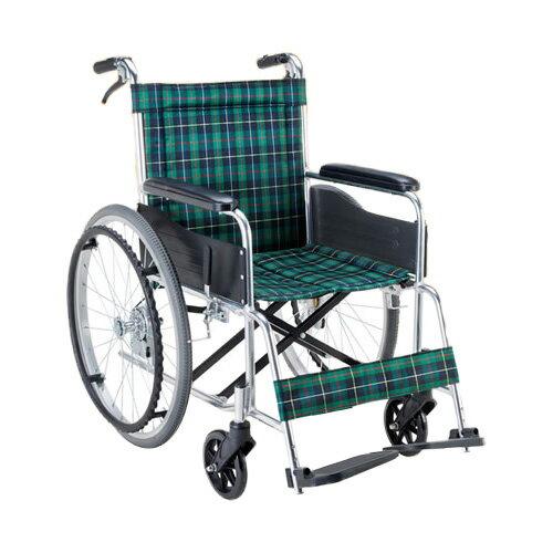 車椅子軽量折り畳み アルミ自走用車いす(ノーパンク仕様)(車椅子 車いす 車イス サイズ 自走用 サイズ 折りたたみ  介護用品  高齢者用 老人用 座幅 種類 送料無料 軽量)