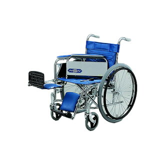 轮椅、折叠,供自己行走使用的轮椅ND-14[扶手穿脱式erebetingu]日进医疗器自己行走折叠轮椅轮椅护理用品