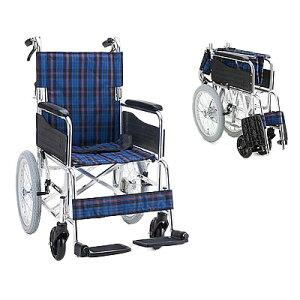 アルミ介助用車椅子 セレクト30 背折[ マキライフテック ]車いす 車イス介護用品(介護用品/介護車いす/車イス)