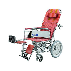 リクライニング車椅子・介助用車椅子NDH-15 [肘掛け着脱式・エレベーティング]日進医療器 リクライニング 車いす 車イス 介護用品 送料無料