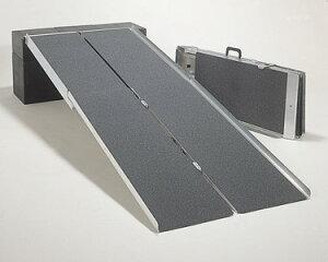 車椅子用段差解消PVWポータブルスロープ アルミ4折式タイプ[3m](介護車椅子用スロープ 種類 車イス )