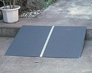 車椅子 スロープ・車椅子用段差解消PVTポータブルスロープアルミ1枚板タイプ[60cm](玄関用 階段用) 【楽天お買い物マラソン】