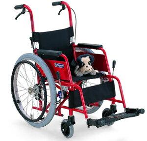 アルミ製子供用車椅子 KAC-NB32[30/28] (カワムラサイクル)(車椅子 関連) ) (福祉介護)/座幅 前座高