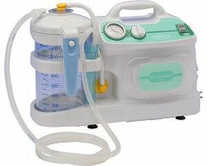 送料無料 ポータブル吸引器ミニックW- (介護用品 治療機器 携帯 痰 たん お年寄り 高齢者 持ち運び 老人 吸引機 痰の吸引機)