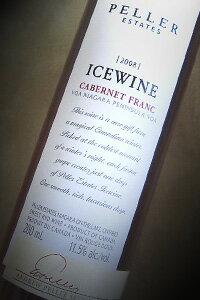 (金賞受賞)ペラー・エステート ペラー・シグナチャー カベルネフラン アイスワイン[2013]赤・極甘口 200ml カナダ産アイスワイン まもなく終売