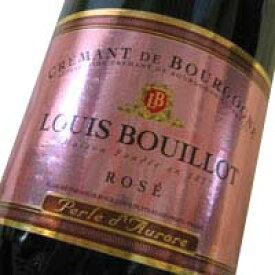 クレマン・ド・ブルゴーニュ ペルル・ド・オロール(ルイ・ブイヨ)ロゼ・泡・辛口 スパークリングワイン
