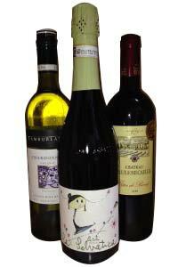 ☆はじめてのお客様限定、送料無料☆ ソムリエ厳選セレクトワインお試しセット 赤・白・甘口スパークリングの3本セット -DDEE-