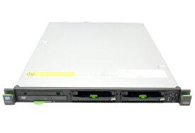 富士通 PRIMERGY RX100S7 Xeon E3-1260L 2.4GHz 8GB 300GBx2台 (SAS3.5インチ/6Gbps/RAID1構成) DVD-ROM RAID 【中古】【20170210】