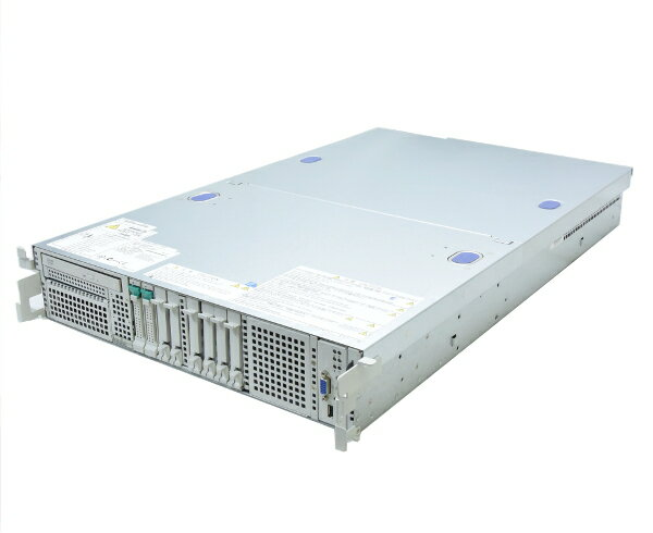 NEC Express5800/R120b-2 Xeon E5620 2.4GHz*2 12GB 146GBx2台(SAS2.5インチ/6Gbps/RAID1構成) DVD-ROM AC*2 RAID 【中古】【20170814】