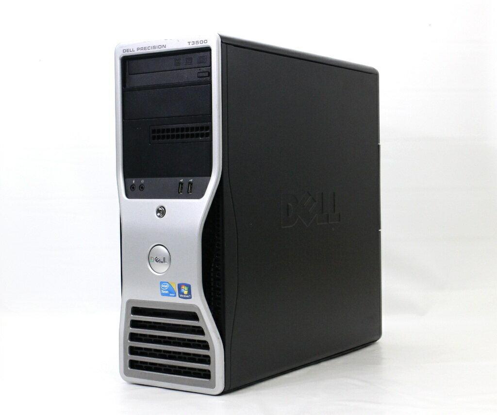 DELL Precision T3500 Xeon W3503 2.4GHz 8GB 250GB Quadro2000 DVD+-RW Windows7Pro64bit 【中古】【20180119】