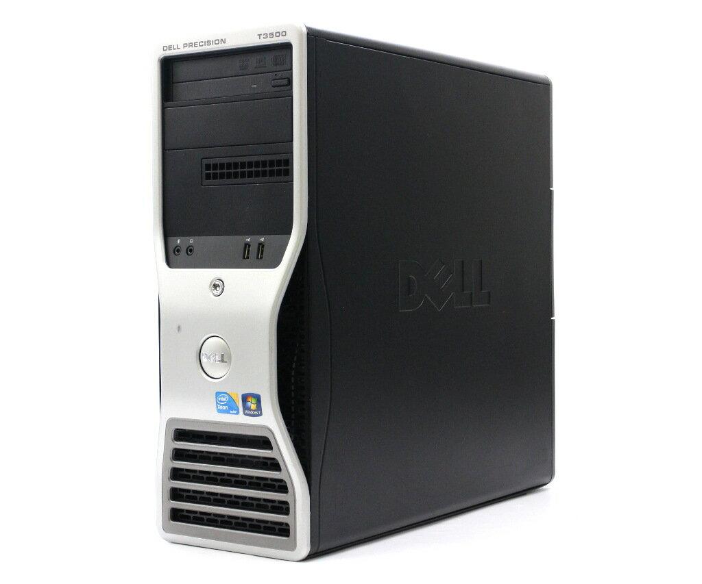 DELL Precision T3500 Xeon W3505 2.53GHz 4GB 250GB QuadroFX580 DVD+-RW Windows7Pro64bit 【中古】【20180119】