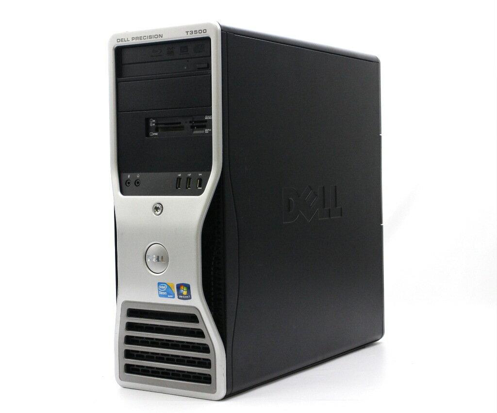 DELL Precision T3500 Xeon W3530 2.8GHz 8GB 250GB Quadro2000 BD-RE Windows7Pro64bit 【中古】【20180119】