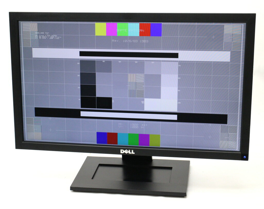 DELL E2211H 21.5インチ非光沢パネル フルHD 1920x1080 DVI-D/アナログRGB入力端子 【中古】【20180119】