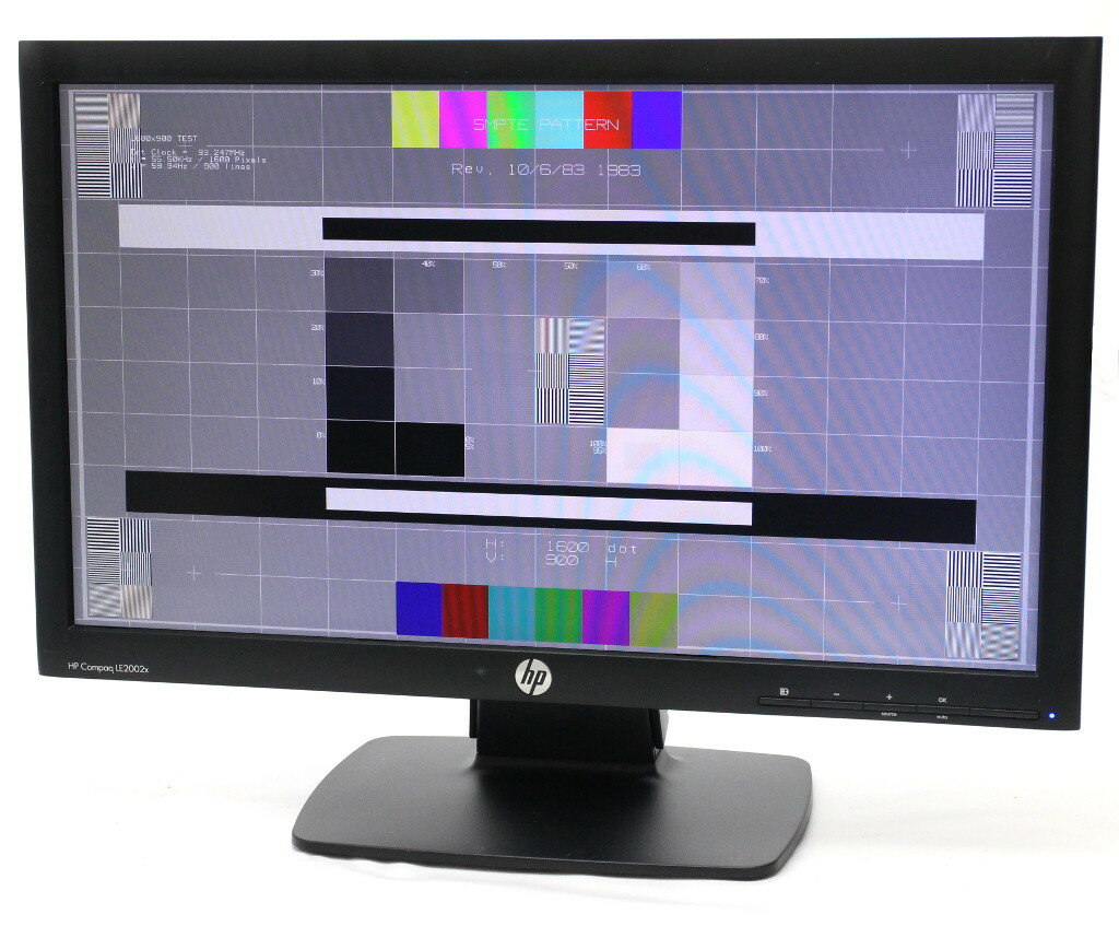 hp LE2002x 20インチ非光沢TFTパネル WXGA++ 1600x900ドット DVI-D/アナログRGB入力 【中古】【20180119】