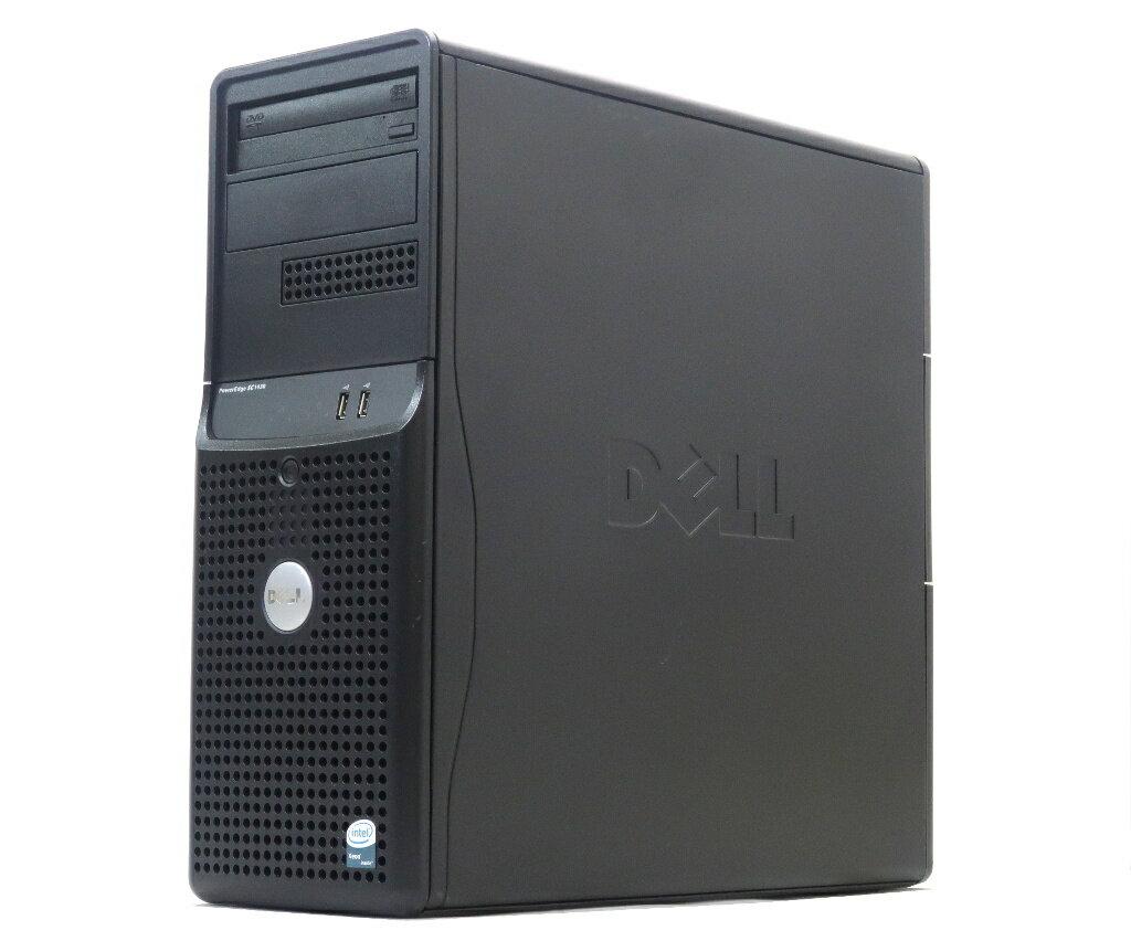 DELL PowerEdge SC1430 Xeon E5310 1.6GHz 2GB 500GBx3台(SATA3.5インチ/RAID5構成) COMBO PERC 5/i 【中古】【20180119】