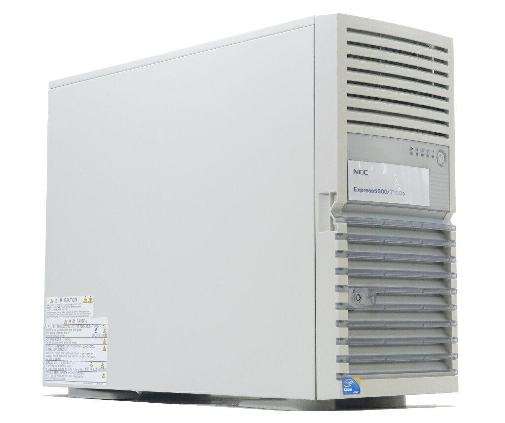 NEC Express5800/T110C Xeon X3430 2.4GHz 2GB 146GBx2台(SAS2.5インチ/6Gbps/RAID1) DVD-ROM AC*2 LSI MegaRAID SAS 9264-8i 【中古】【20180119】