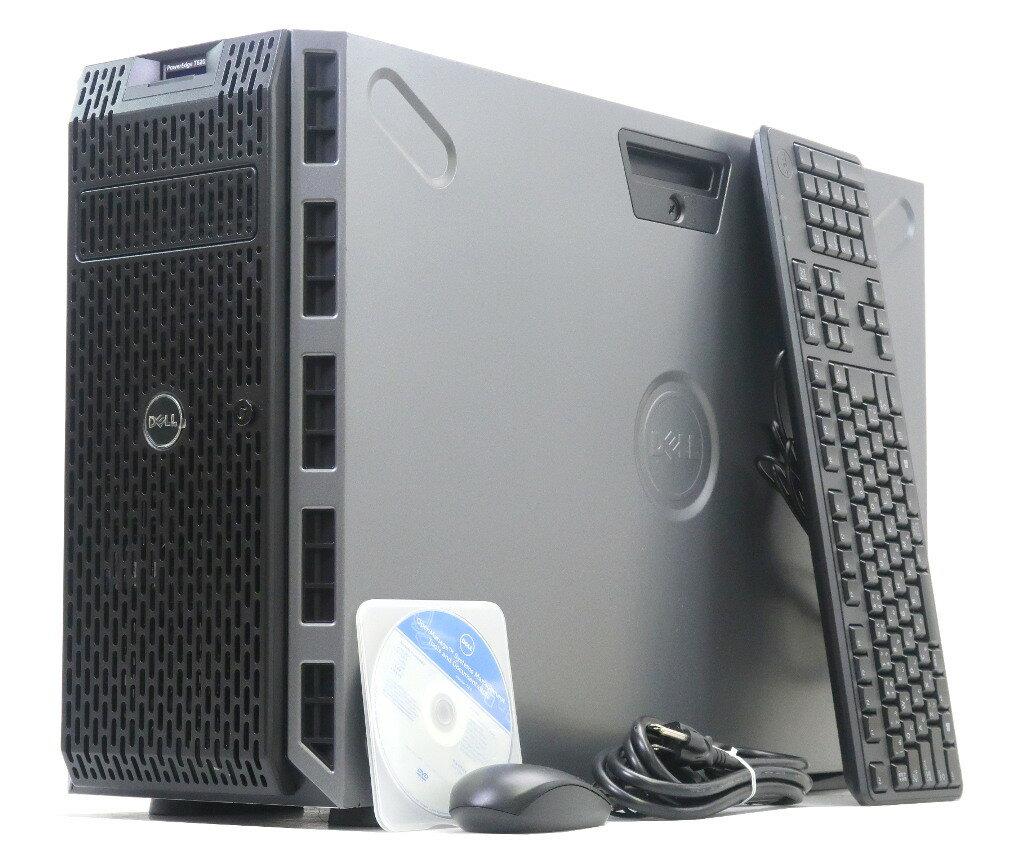 DELL PowerEdge T620 Xeon E5-2609 2.4GHz*2 16GB 146GBx3台(SAS2.5インチ/6Gbps/RAID5構成) DVD-ROM PERC H310 【中古】【20180119】