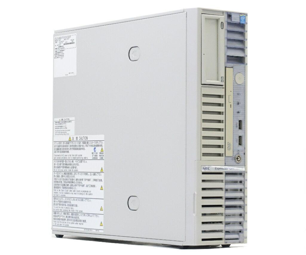 NEC Express5800/GT110f-S Pentium G3220 3GHz 4GB 500GBx2台(SATA2.5インチ/RAID1構成) DVD-ROM SATA RAID 【中古】【20180119】
