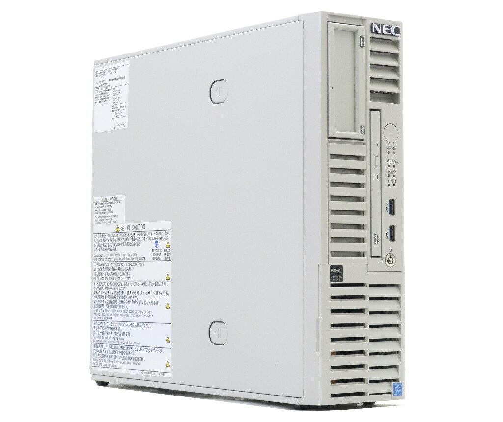 NEC Express5800/T110h-S Pentium G4400 3.3GHz 16GB 500GBx2台(SATA2.5インチ/RAID1構成) DVD-ROM SATA RAID 【中古】【20180119】