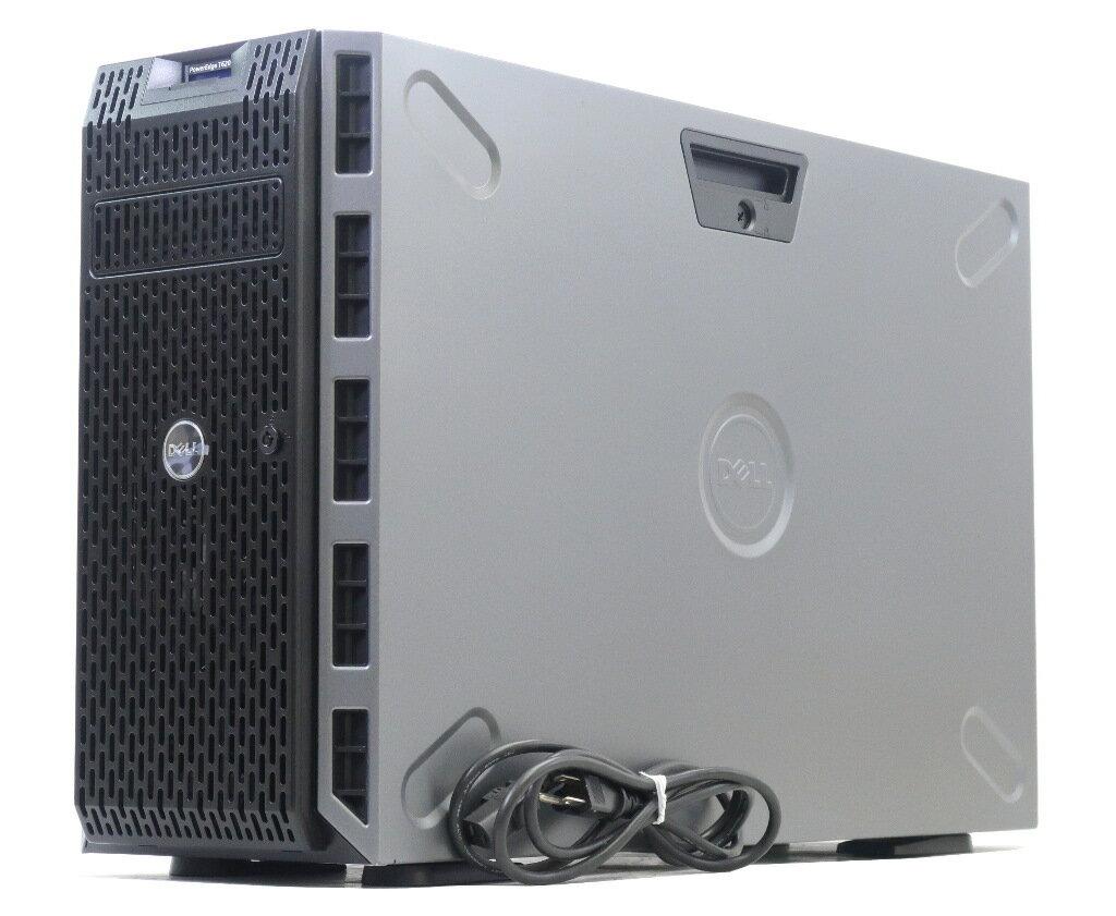 DELL PowerEdge T620 Xeon E5-2620v2 2.1GHz 16GB 1TBx2台(SAS3.5インチ/6Gbps/RAID1構成) DVD+-RW PERC H310 【中古】【20180119】