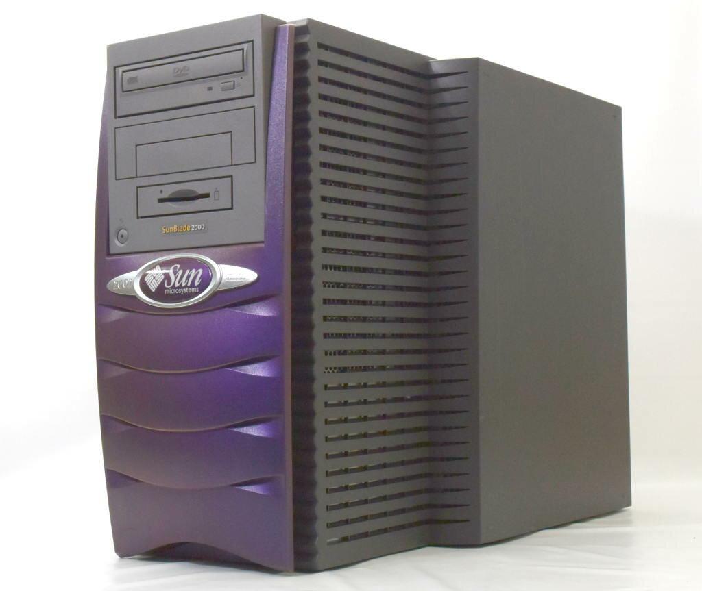 Sun Blade 2000 UltraSPARC-3+ 1.2GHz 1GB 73GB (SCA40ピン) PGX64 DVD-ROM 【中古】【20180115】