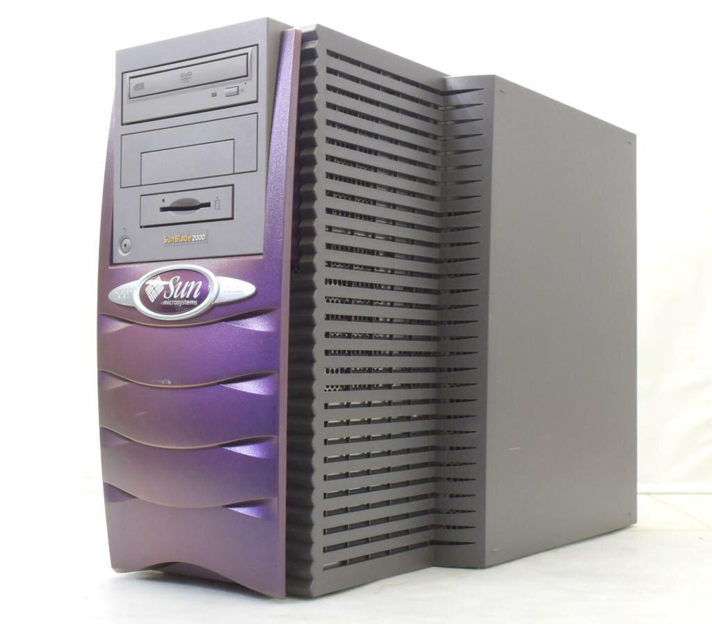 Sun Blade 2000 UltraSPARC-3+ 1.2GHz*2 8GB 146GB (SCA40ピン) XVR-100 DVD-ROM 【中古】【20180115】