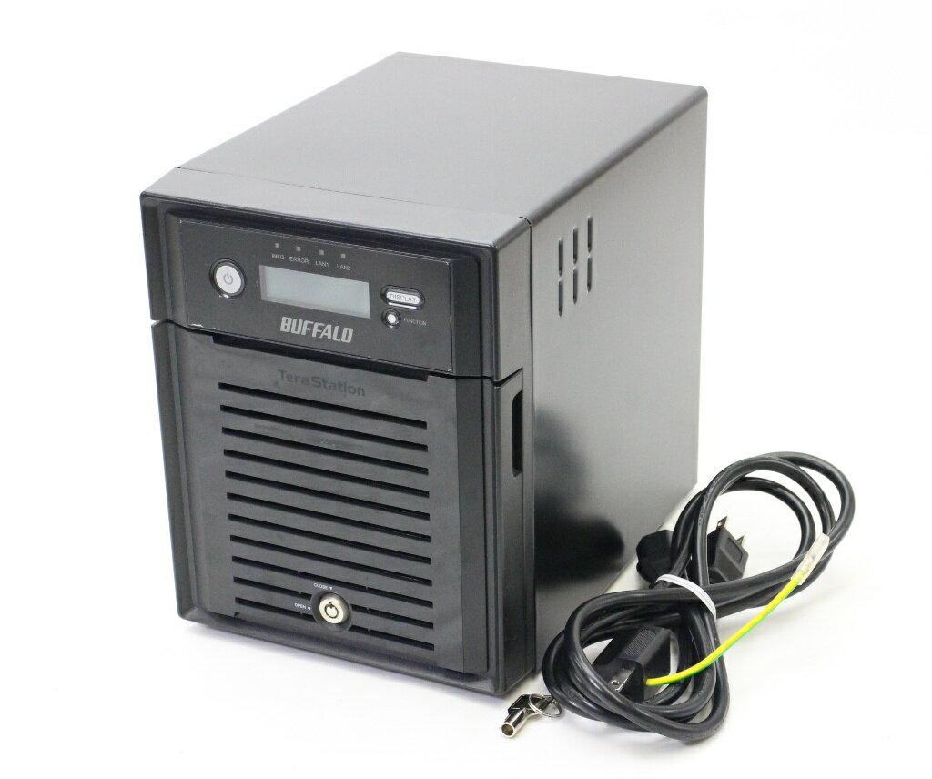 Buffalo TeraStation TS5400シリーズ TS5400D0804 RAID6対応 8TBモデル 初期化済 【中古】【20171208】