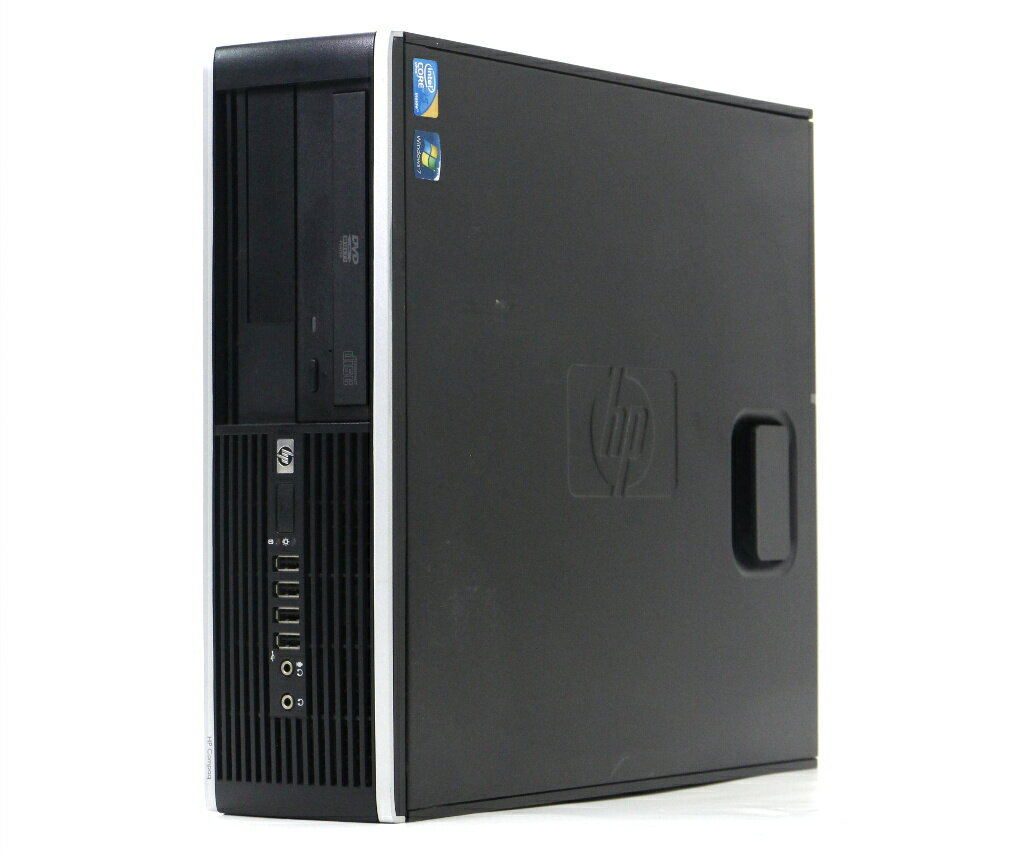 hp Compaq 8100 Elite SFF Core i5-650 3.2GHz 4GB 250GB DP/アナログRGB出力 DVD-ROM Windows7HomePremium64bit 【中古】【20171204】