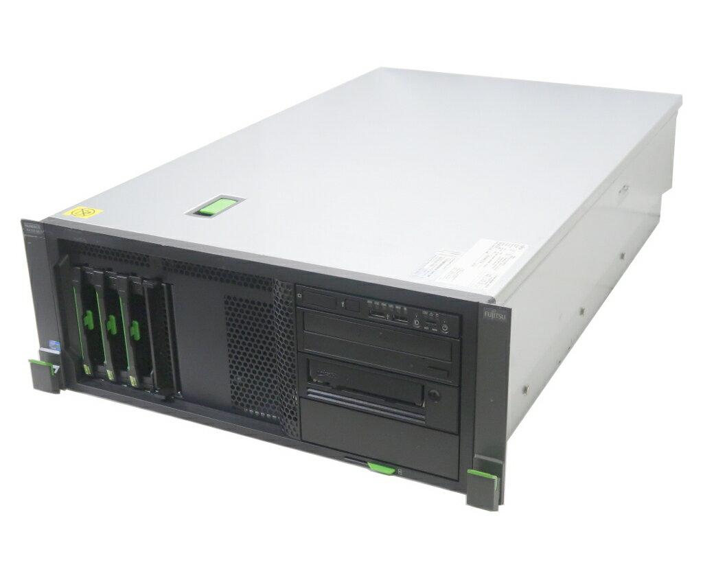 【送料無料対象外】富士通 PRIMERGY RX350 S7 Xeon E5-2609 2.4GHz 8GB 300GBx3台(SAS3.5インチ/6Gbps/RAID6構成) DVD+-RW RAID 【中古】【20171227】