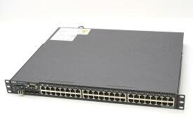 NEC IP8800/S2430-48T (Alaxala AX2430S-48T OEM) 48ポート GbE +SFP 1000BASE-T VLAN/DHCPサーバー OS-L2 Ver.10.4.A 初期化済 【中古】【20180216】