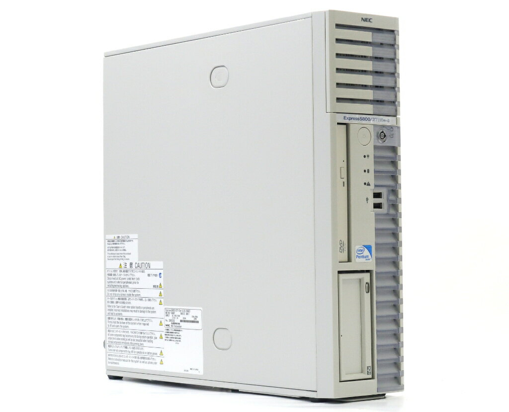 NEC Express5800/GT110e-S Pentium G640 2.8GHz 8GB 250GBx2台(SATA2.5インチ/RAID1構成) DVD-ROM SATA RAID 【中古】【20180612】
