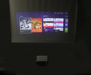 BenQGS1ポータブルLEDデジタルプロジェクタ無線LANBluetoothAndroidOS搭載バッテリ付属HDMI/USB3.0/MicroSD【中古】【20180627】
