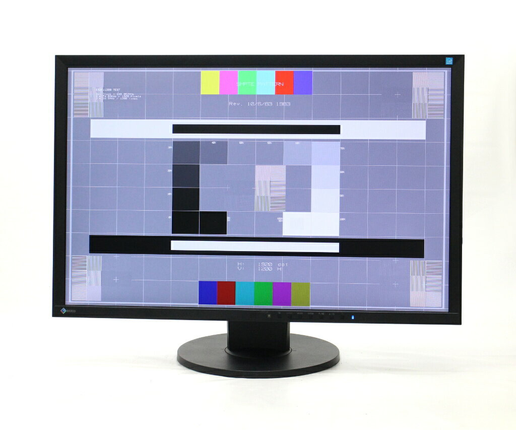 EIZO FlexScan EV2436W 24.1インチ 非光沢 IPSパネル WUXGA 1920x1200ドット DVI-D/DisplayPort/アナログRGB入力 【中古】【20180716】