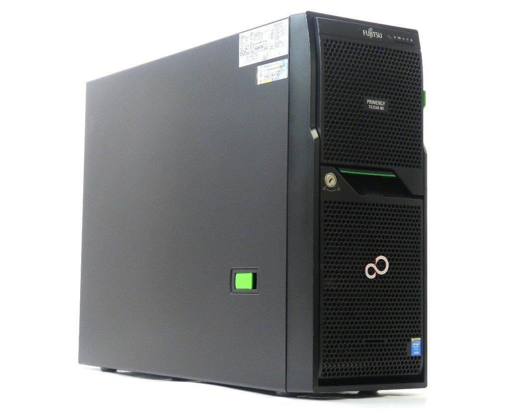 富士通 PRIMERGY TX2540 M1 Xeon E5-2403v2 1.8GHz 8GB 300GBx2台(SAS2.5/6Gbps/RAID1) DVD-ROM RAID Ctrl SAS 6G 0/1 (D2607) 【中古】【20180716】