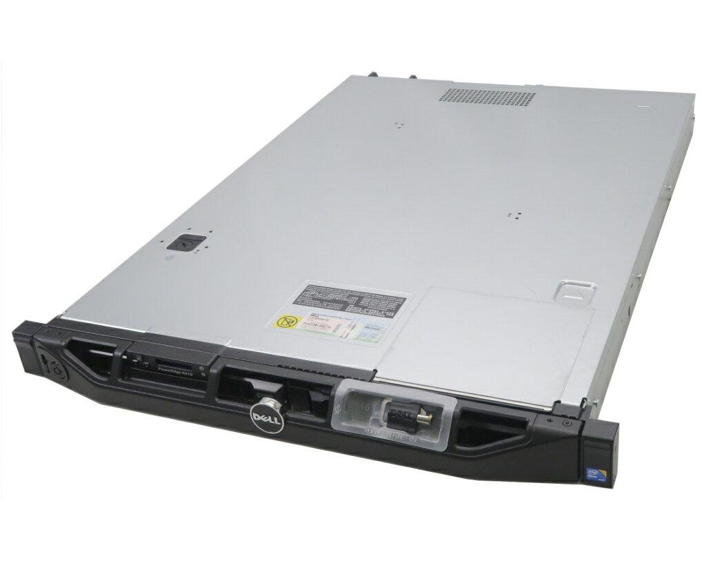 DELL PowerEdge R410 冗長電源 Xeon X5650 2.66GHz*2 16GB 300GBx2台(SAS3.5インチ/6Gbps/RAID1構成) DVD-ROM AC*2 PERC 6/i 【中古】【20180716】
