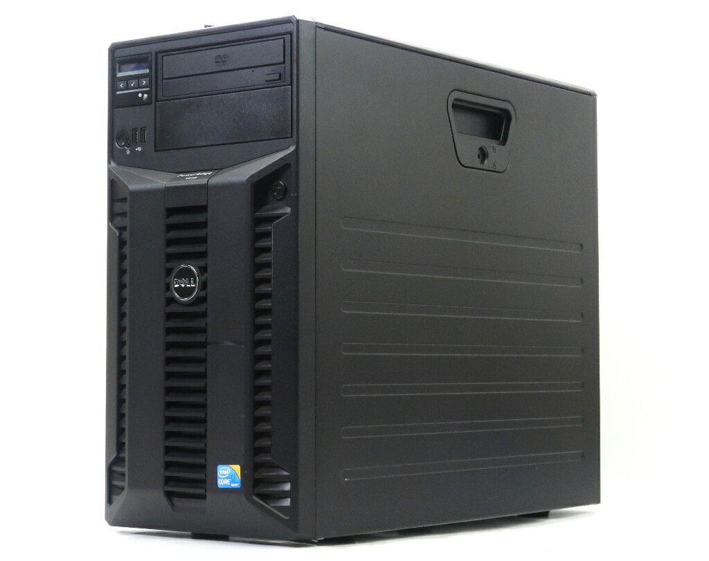 DELL PowerEdge T310 Core i3-550 3.2GHz 4GB 250GBx2台(SATA3.5インチ/RAID1構成) DVD-ROM PERC 6/i 【中古】【20180716】