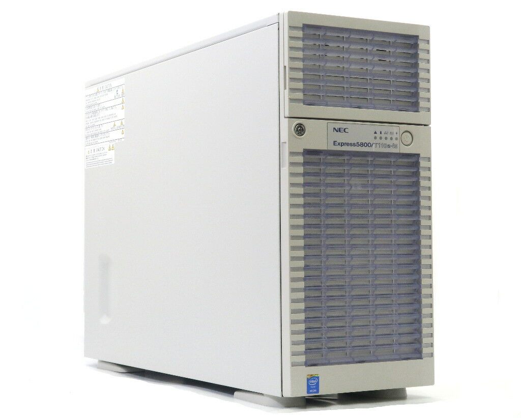 NEC Express5800/T110e-M Xeon E5-2403v2 1.8GHz 8GB 300GBx3台(SAS3.5インチ/3Gbps/RAID5) DVD+-RW LSI Mega RAID SAS 9272-8i 【中古】【20180808】
