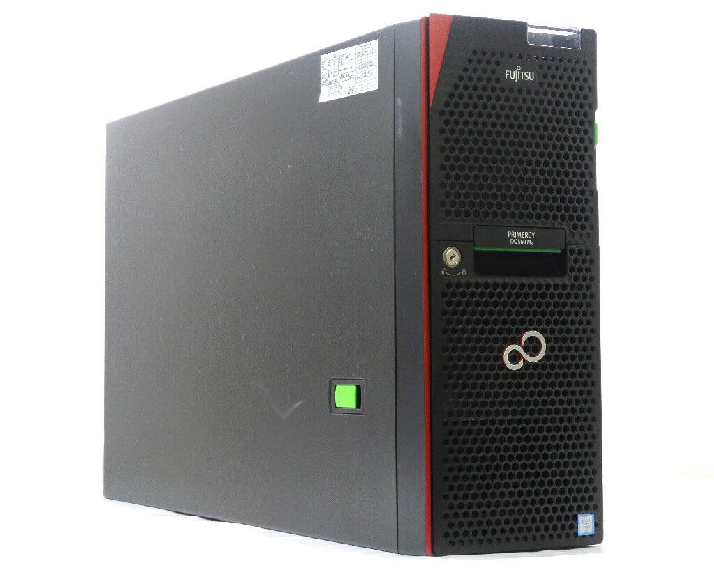 富士通 PRIMERGY TX2560 M2 Xeon E5-2603v4 1.7GHz*2 16GB DVD-ROM PRAID CP400i 12Gb/s RAID5対応 【中古】【20180808】