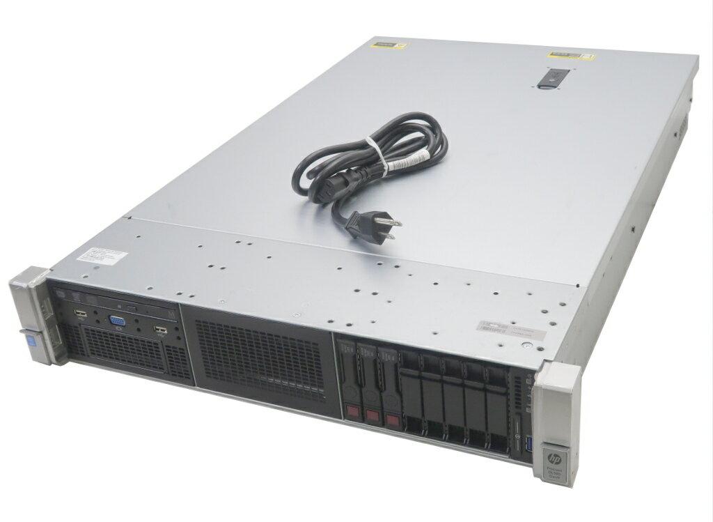 hp ProLiant DL380 Gen9 Xeon E5-2620v3 2.4GHz 8GB 300GBx3台(SAS2.5インチ/6Gbps/RAID5構成) DVD+-RW SmartArray-P440ar 【中古】【20180808】