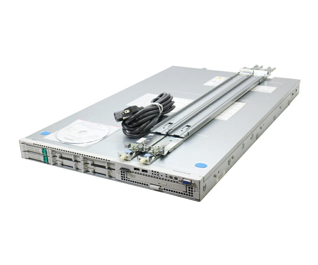 NEC Express5800/R120e-1M Xeon E5-2630v2 2.6GHz*2 32GB 300GBx2台(SAS2.5/6Gbps/RAID1) DVD-ROM LSI Mega RAID SAS 9272-8i 【中古】【20180808】