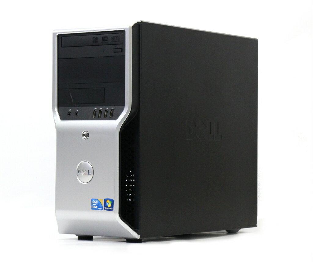 DELL Precision T1500 Core i5-650 3.2GHz 4GB 500GB DVI-I出力 DVD+-RW Windows7 Pro 64bit 【中古】【20180808】