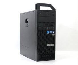Lenovo ThinkStation S30 0569-1J2 Xeon E5-1620 3.6GHz 8GB 500GB Quadro2000 DVD+-RW Windows7 Pro 64bit 【中古】【20180821】